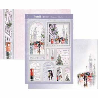 Hunkydory Topper Set Christmas Memory Lane