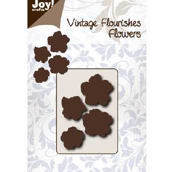Joy Crafts Vintage Flourishes Label