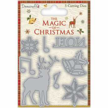 Dovecraft Stanzenset The Magic of Christmas