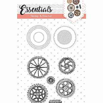 Studio Light Stamp & Die Cut Essentials Nr.15