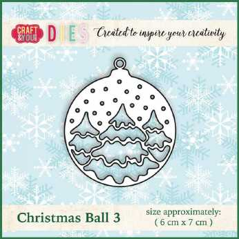 Craft & You Stanze Christmas Ball 3