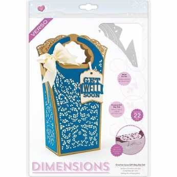 Tonic Studios Stanze Chrochet Lace Gift Bag