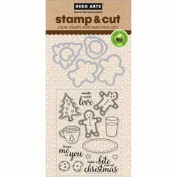 Hero Arts Stamp and Cut Santa Snacks
