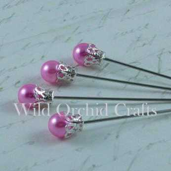 Baby Pink Crown Pins