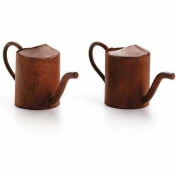Timeless Miniatures Rusty Watering Cans