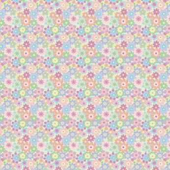 K&Company Little Flowers Glitter Paper