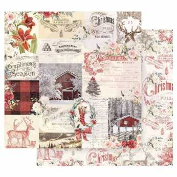 Scrapbookingpapier North Pole 03