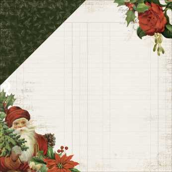 Scrapbookingpapier Silent Night 6