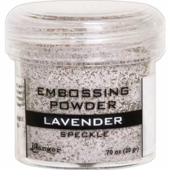 Ranger Embossing Powder Lavender Speckle