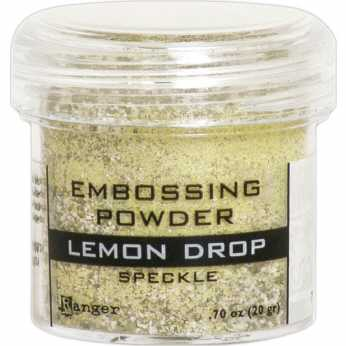Ranger Embossing Powder Lemon Drop Speckle