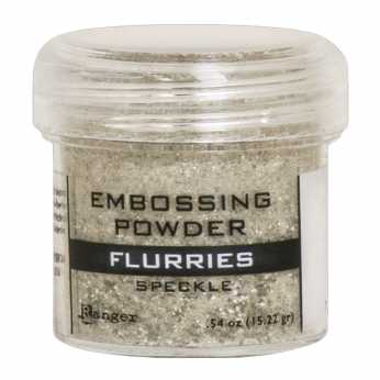 Ranger Embossing Powder Flurries Speckle