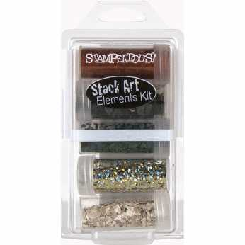 Survival Stack Art Elements Kit - Stampendous