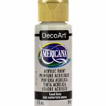 Americana acrylic paint tropical blue