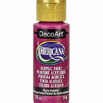 Americana acrylic paint royal navy