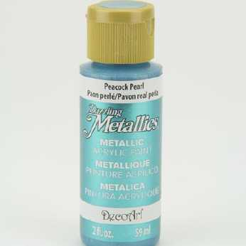 Dazzling Metallic Acrylic Paint Teal