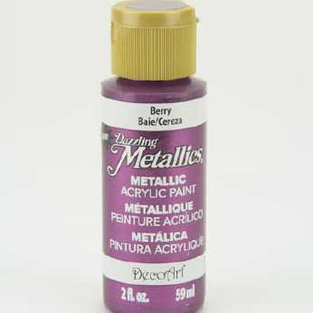 Dazzling Metallic Acrylic Paint Rose Gold