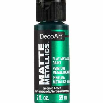 DecoArt Matte Metallics Emerald Green