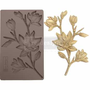 Prima re-design Decor Moulds Forest Flora