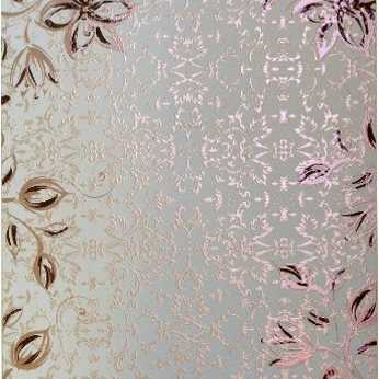 Kanban Duo Card Holly Swirls pink & purple