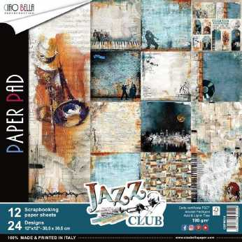 Ciao Bella Paper Pad Jazz Club