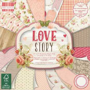 First Edition Paper Pad It´s a girl 12x12""