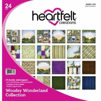 Heartfelt Creations Paper Pad Woodsy Wonderland