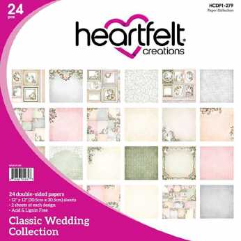 Heartfelt Creations Paper Pad Classic Wedding