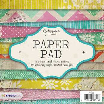 Craft & You Design Paper Pad Beautiful Day 6 x 6""