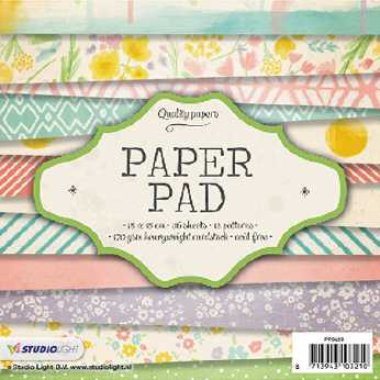 Craft & You Design New Baby Born Paper Pad 6 x 6""