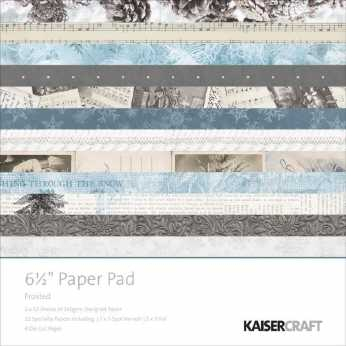 Kaisercraft Paper Pad Frosted 6,5""