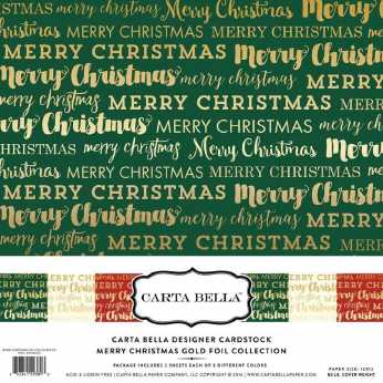 Carta Bella Collection Pack Merry Christmas