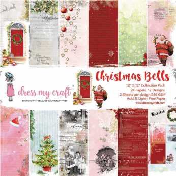 Dress my Craft Collection Pack Christmas Bells