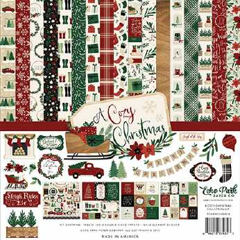 Echo Park A Cozy Christmas Collection Kit