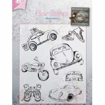 Joy Crafts Stempel Men´s heart - Autos