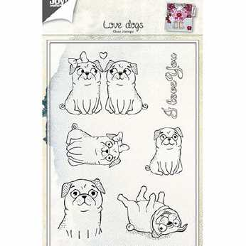 Joy Crafts Stempel Love Dogs