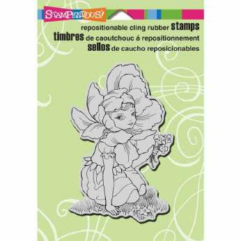 Stampendous Cling Beautiful Braid