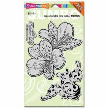 Stampendous Cling Fairy Flower