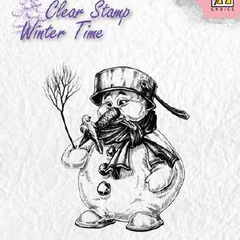 Nellie´s Choice Clearstamp Snowman