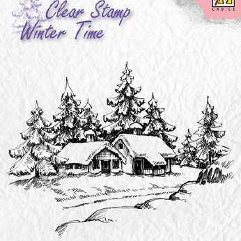 Nellie´s Choice Clearstamp Wintery House