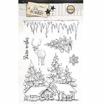 Studio Light Stempel Frozen Forest Nr. 151