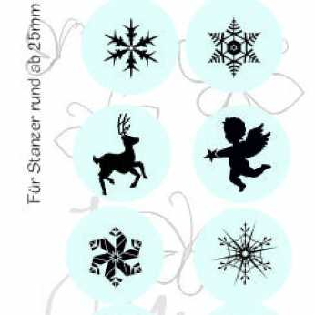 Clear Stamp Set Weihnachten 1