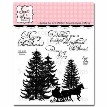 Sweet ´n Sassy Stempel Old fashioned Christmas