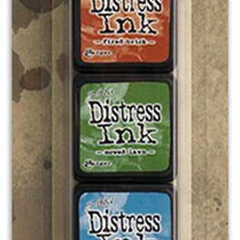 Tim Holtz Distress Ink Pad Mini Kit #8