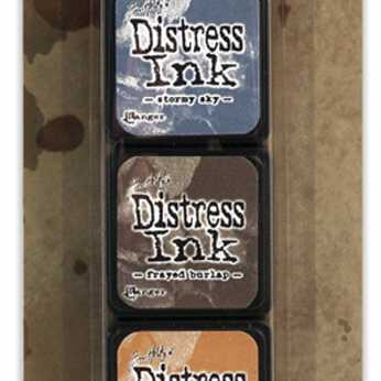 Tim Holtz Distress Ink Pad Mini Kit #15