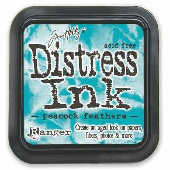 Distress Ink abandoned coral