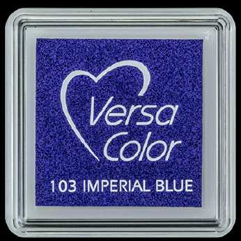VersaColor Mini-Stempelkissen Imperial Blue