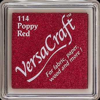 VersaCraft Mini Stempelkissen Poppy Red