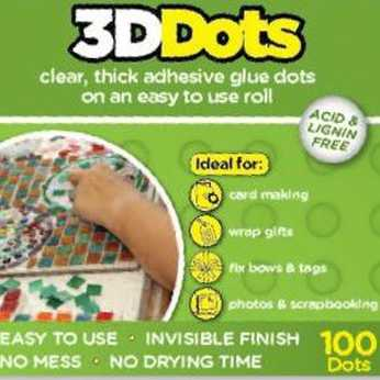 3D Glue Dots Clear