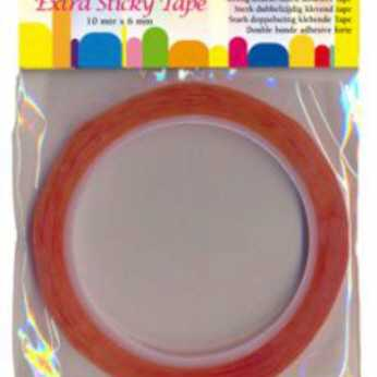 Extra Sticky Tape 6 mm