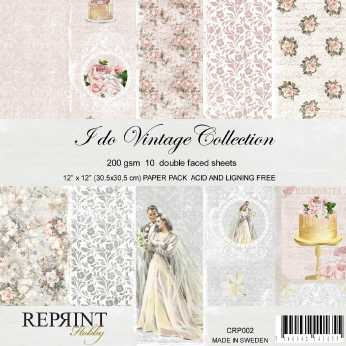 Reprint Paper Pack Dots Vintage Collection